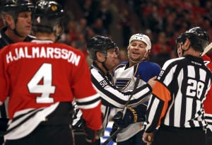 HEALTHY MOTIVATION: Blues getting well just in time for playoffs series against Blackhawks