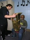High school band helps fifth graders make big decision