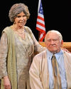 Loretta Swit and Ed Asner as Eleanor Roosevelt and FDR
