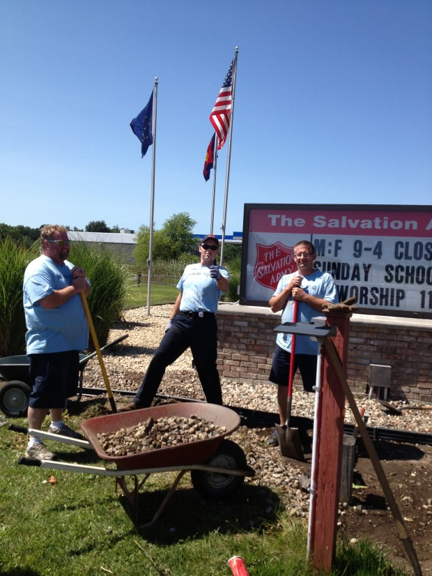 Day of caring at salvation army of laporte laporte for Laporte community