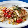 Lowfat: Pan-Grilled Walleye with Chimichurri