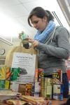 Crown Point High School students donate more than 1,000 food items