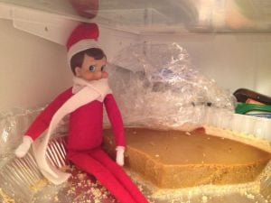 Elves spread holiday cheer