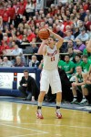 Munster's Mike Schlotman 3-pointer