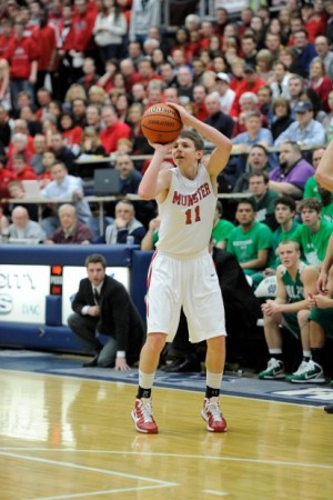 Munster's Mike Schlotman hopes to be the next Bizoukas