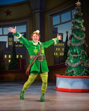 Santa's stage helper: New national Broadway tour of 'Elf the Musical' in Chicago