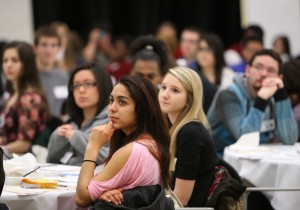 High school students study world affairs at PUC conference
