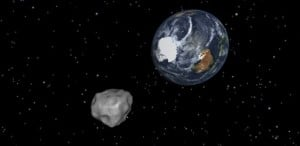 Asteroid set to fly past Earth