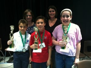 St. Mary takes part in diocesan spelling bee