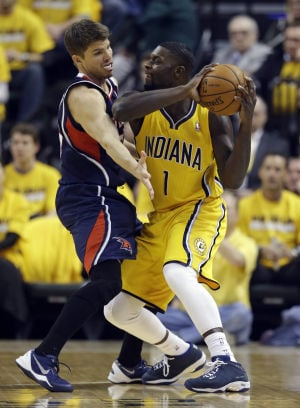 Pacers fall flat in playoff opener
