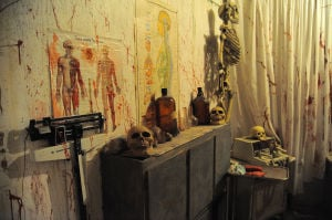 Make appointment with Dr. GoodAndEvil; St. John haunted house among scariest in region