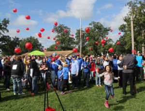 Lake County Heart Walk at the Lake County Fairgrounds