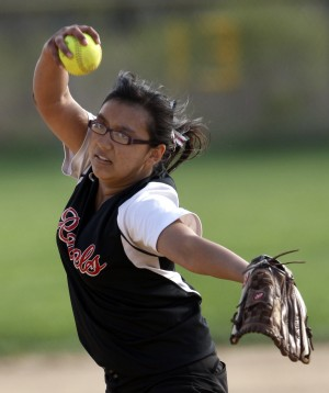 T.F. South beats T.F. North in softball