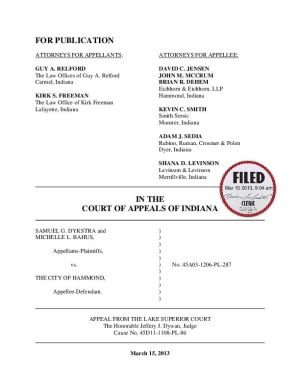 Indiana Supreme Court leaves invalid Hammond gun ordinances on books