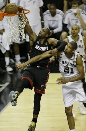Heat back on familiar, and shaky, ground in Finals