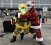 Warring Santas