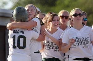 Whiting softball team nips Bishop Noll in walk-off fashion