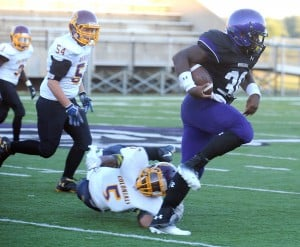Merrillville runs away from Clay in football opener