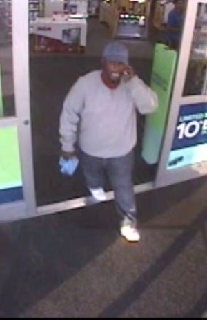Highland cops seeking public's help in ID'ing Best Buy robbery suspect