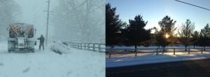 Gallery: Snow vs. Sun