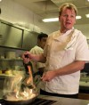 TV chef ready to slice, dice, new crop of cooks