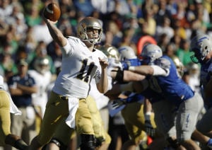 Rees leads Notre Dame to win over Air Force