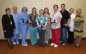 Top caregivers recognized at St. Mary Medical Center