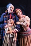 "Mark David Kaplan plays Thenardier with Sage Harper as Little Cosette, and Sharon Sachs as wife Madame Thenardier in Drury Lane Theatre's ""Les Miserables"""