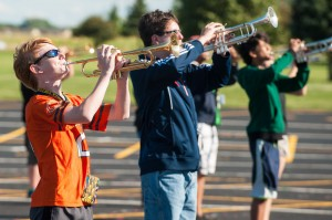 PHS band members on the mark for upcoming season