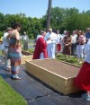 Community garden receives blessing