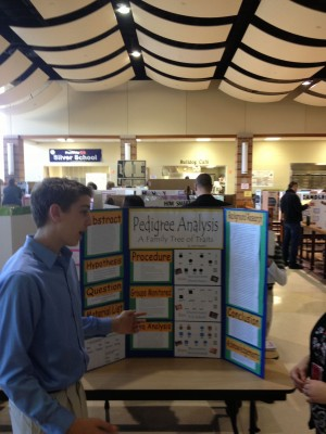 Eighth-graders seek answers through experiments
