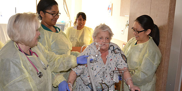 Early mobility program improves recovery times, results in shorter hospital stays for ICU patients