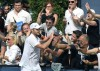 Roddick's court unplayable; U.S. Open final moved to Monday