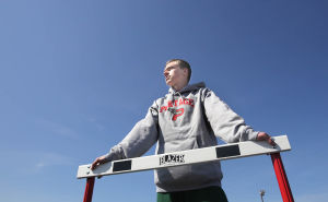 It's speed over size for Portage hurdler Sebben