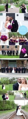 Real Weddings: Danielle &amp; Brandon, Part II