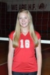 Homewood-Flossmoor volleyball player Claire Weidman
