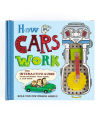 """How Cars Work"" by Nick Arnold and illustrated by Allan Sanders"