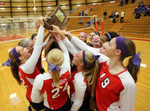Munster breezes past Highland to win Class 4A Munster Sectional championship