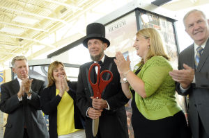 New Lincoln exhibit opens in South Holland