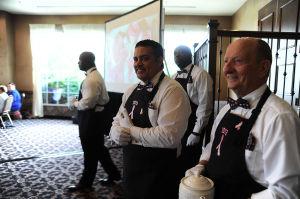 Pink Ribbon Society tea turns page on calendar contributors