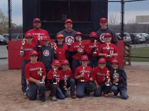 Schererville Shock finishes as runner up in baseball tourney