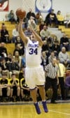 Boone Grove's' Jake Clapp shoots