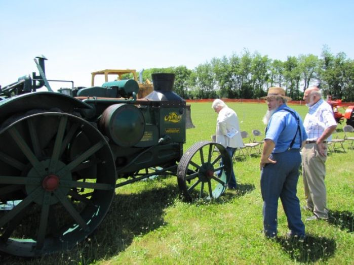 Ground broken for rumely allis chalmers laporte heritage for Laporte community