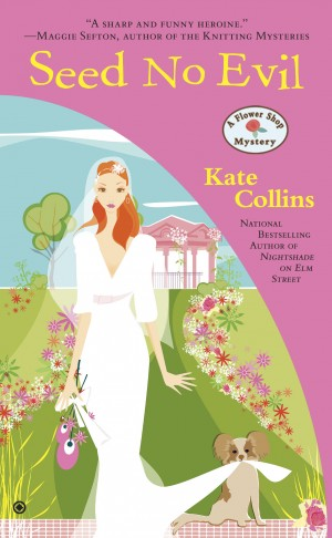 OFFBEAT: Author Kate Collins ready for character Abby's August wedding