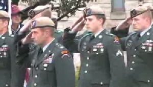 VIDEO: Mourners gather for Ranger's funeral