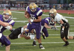 Hobart romps Griffith in conference opener