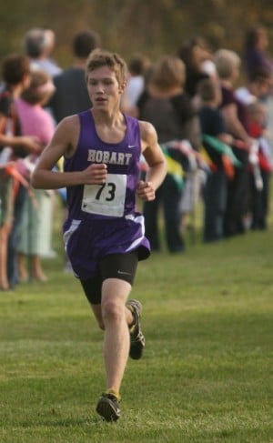 Hobart cross country's return trip to state no easy feat
