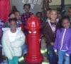 Lansing students learn fire prevention