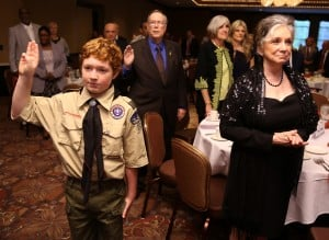 Boy Scouts honor Times publisher Masterson