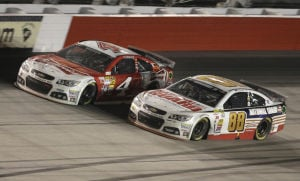 Hendrick up front, even without wins